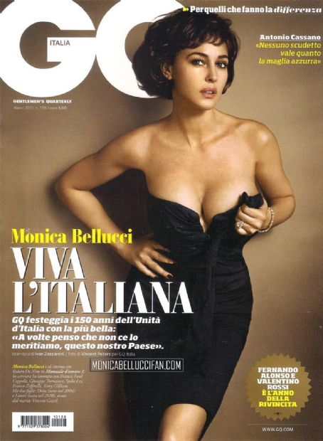 Monica Bellucci - GQ Magazine Cover [Italy] (March 2011)