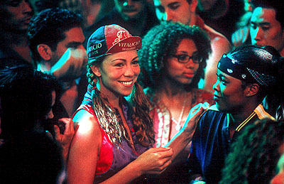 Da Brat Mariah Carey and  in 20th Century Fox's Glitter - 2001