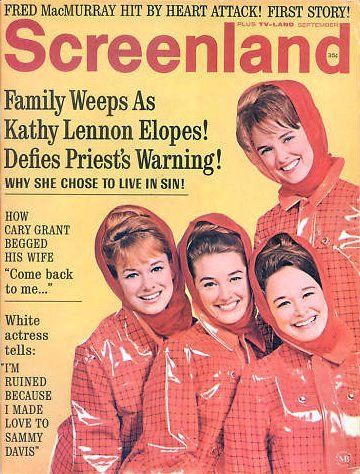 Kathy Lennon - Screenland Magazine [United States] (September 1967)