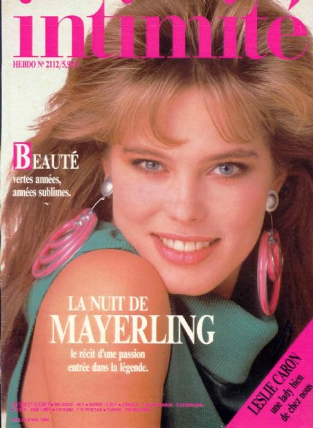 Renée Simonsen - Intimité Magazine Cover [France] (2 May 1986)