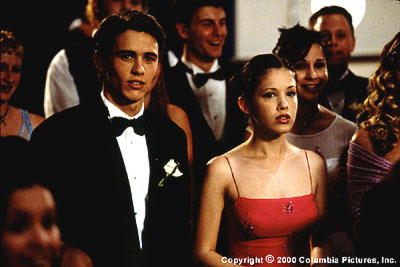 Whatever It Takes High school superjock Chris (James Franco) is thrilled to escort Maggie (Marla Sokoloff) to the prom in Columbia/Phoenix's  - 3/2000