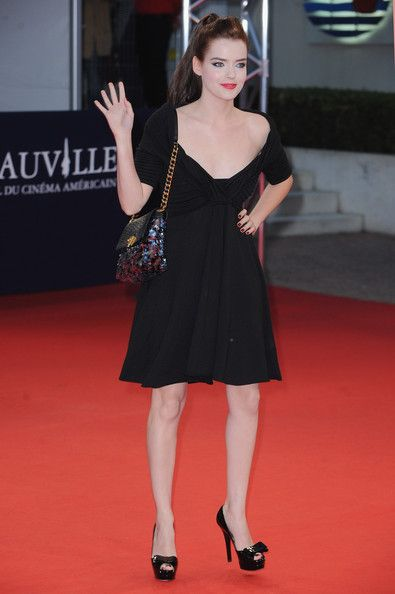 Roxane Mesquida - 'Love and Other Impossible Pursuits' Premiere -36th Deauville Film Festival