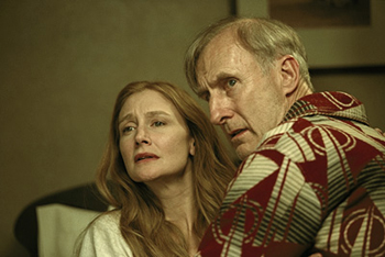 The Green Mile Patricia Clarkson and James Cromwell in Castle Rock's  - 12/99