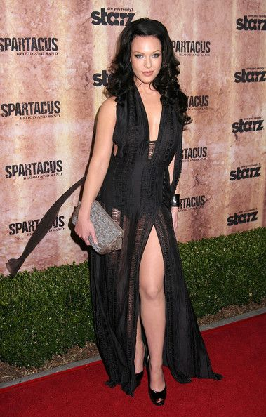 "Erin Cummings in ""Spartacus- Blood and Sand New York Premiere."""