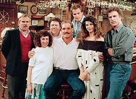 Kirstie Alley - Wayne Boggs at Cheers