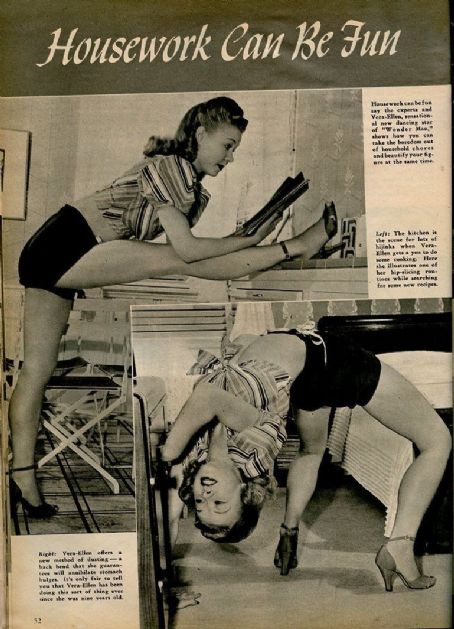 Vera-Ellen - Silver Screen Magazine Pictorial [United States] (September 1945)
