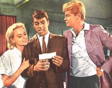 Diane McBain,Van Williams & Troy Donahue in Surfside 6