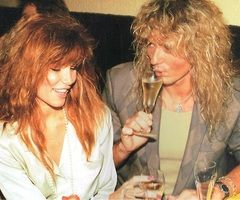 Tawny Kitaen and David Coverdale - David Coverdale and Tawny Kitaen