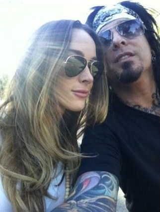 Courtney Bingham Nikki Sixx and