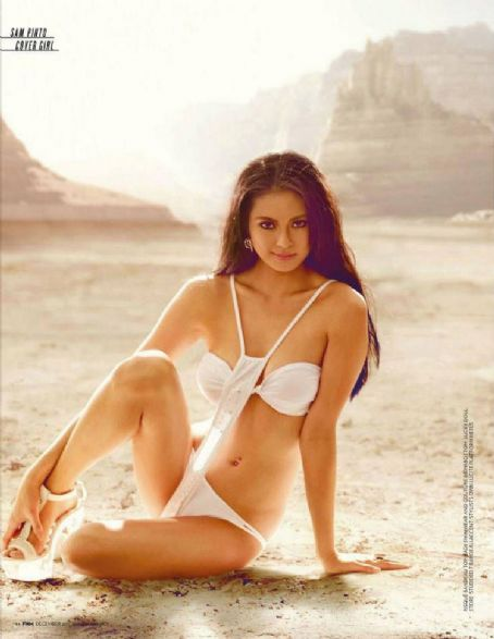 Sam Pinto FHM Philippines December 2011