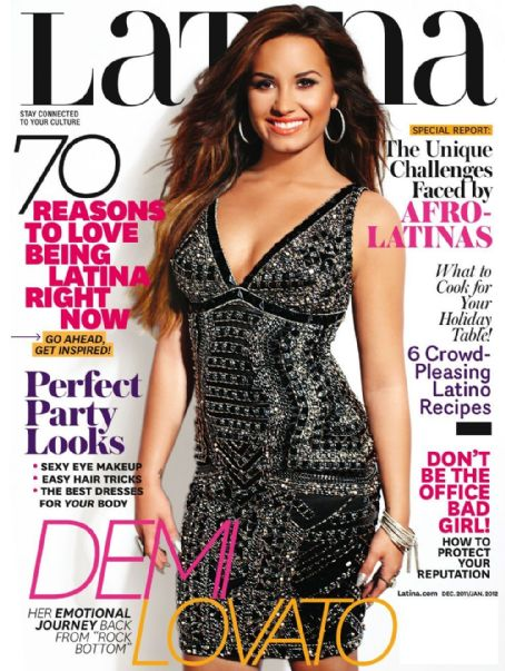 Demi Lovato - Latina Magazine Cover [United States] (January 2012)