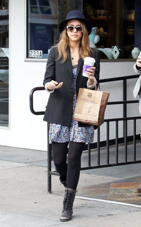 Jessica Alba's Coffee Bean Java Jumpstart