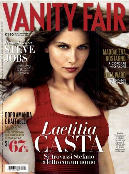 Laetitia Casta - Vanity Fair Magazine Cover [Italy] (19 October 2011)