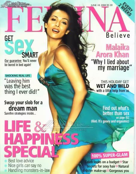 Malaika Arora  - Femina June 2008