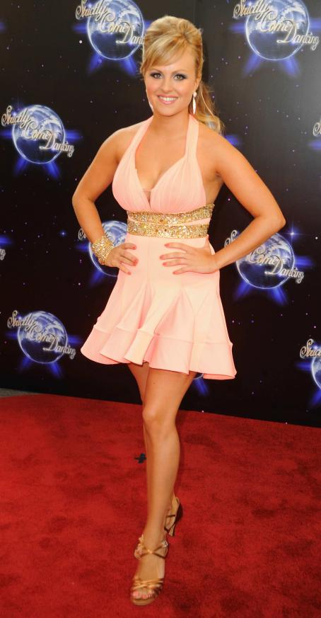Tina O'Brien - Tina O'Brien - 'Strictly Come Dancing' Season 8 Launch Show At BBC Television Centre On September 8, 2010 In London, England
