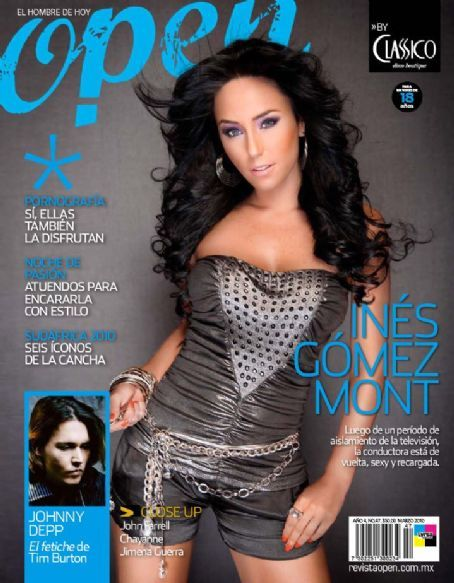 Open Magazine Cover [Mexico] (March 2010)
