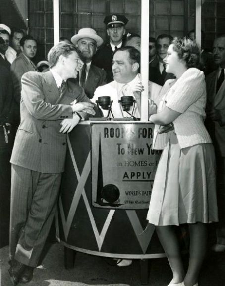 Mickey Rooney - Micky & Judy at NY Worlds Fair