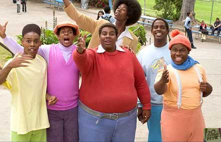 Kenan Thompson  as Fat Albert in 20th Century Fox's Fat Albert, also starring Bill Cosby.