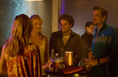 Knocked Up Katherine Heigl, Seth Rogen and Jason Segel in Universal Pictures'  - 2007