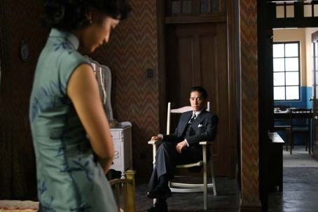 Lust, Caution Tang Wei (left) and Tony Leung (right) star in Ang LeeÆs LUST, CAUTION, a Focus Features release.