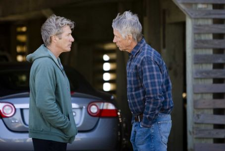 "Scott Glenn (L-r) Paul (RICHARD GERE) listens to Robert Torrelson (SCOTT GLENN) in Warner Bros. Pictures' and Village Roadshow Pictures' romantic drama ""Nights in Rodanthe,"" also starring Diane Lane. Photo by Michael Tackett"