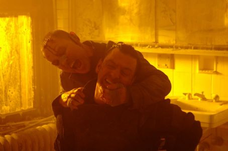Doug Hutchison Loony Bin Jim () and Frank Castle (Ray Stevenson) in PUNISHER: WAR ZONE. Photo credit: Jonathan Wenk