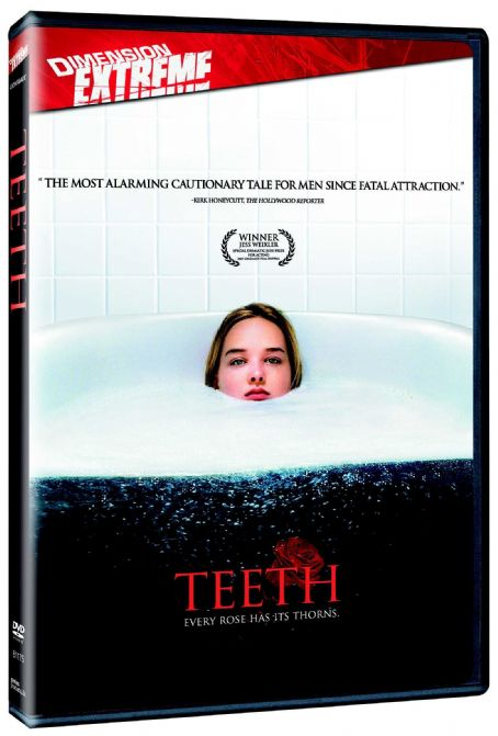 Jess Weixler Teeth DVD Cover 3D