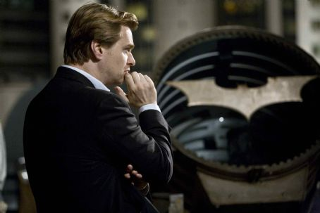 "Christopher Nolan Director CHRISTOPHER NOLAN on the set of Warner Bros. Pictures' and Legendary Pictures' action drama ""The Dark Knight,"" distributed by Warner Bros. Pictures and starring Christian Bale, Michael Caine, Heath Ledger, Gary Oldman, Aar"