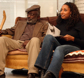 Garrett Morris Left:  as Percy in The Salon