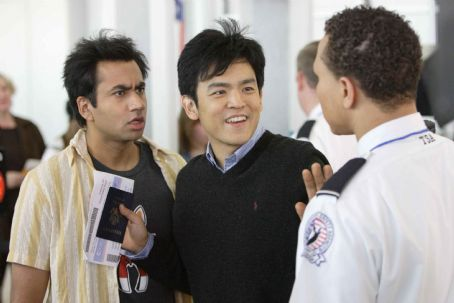 "John Cho Kal Penn (left) stars as ""Kumar"" and  (center) stars as ""Harold"" in New Line Cinema's upcoming release HAROLD AND KUMAR ESCAPE FROM GUANTANAMO BAY. Photo Credit: Jaimie Trueblood/New Line Cinema."
