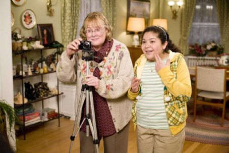 Raini Rodriguez Shirley Knight as 'Mom' and  as 'Maya Blart' in Columbia Pictures' comedy PAUL BLART: MALL COP. Photo credit: Richard Cartwright. © 2009 Columbia Pictures Industries, Inc. and Beverly Blvd LLC All Rights Reserved.