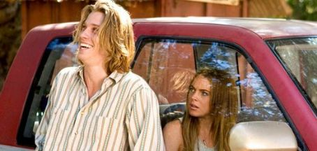 Georgia Rule Garrett Hedlund and Lindsay Lohan play as Rachel and Harlan in Universal Pictures'  - 2007