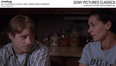 Embeth Davidtz Left: Ben McKenzie as Johnny; Right:  as Madeleine; Photo by: Robert Kirk.