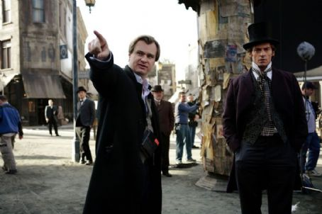 Christopher Nolan  and Hugh Jackman 2