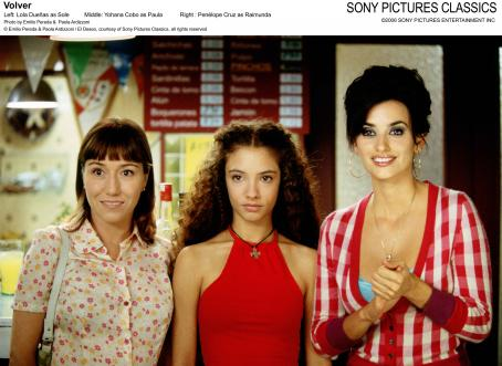 Yohana Cobo Left: Lola Duenas as Sole; Middle:  as Paula; Right: Penelope Cruz as Raimunda. Photo by Emilio Pereda and Paola Ardizzoni © Emilio Pereda and Paola Ardizzoni / El Deseo, courtesy of Sony Pictures Classics, all rights reserved
