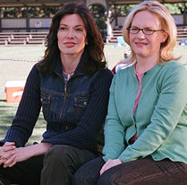 Laura Kightlinger Byong Sun's mommies (, l. and Rachel Harris, r.) - Kicking and Screaming 2005
