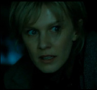 Kathryn Morris  as Sara Moore in an action movie Mindhunters distributed by Dimension Films.