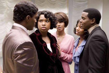 Anika Noni Rose L to R: Jamie Foxx, Jennifer Hudson, Beyonce Knowles,  and Keith Robinson in Paramount Pictures' Dreamgirls - 2006