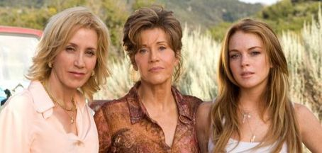 Georgia Rule L to R: Felicity Huffman as Lilly, Jane Fonda as Georgia and Lindsay Lohan as Rachel in Universal Pictures'  - 2007