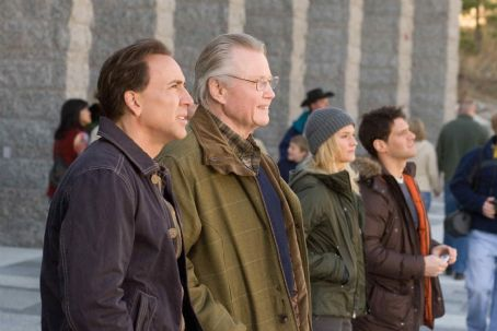 Justin Bartha Left to right: NICOLAS CAGE, JON VOIGHT, DIANE KRUGER, JUSTIN BARTHA in National Treasure: Book of Secrets'© Disney Enterprises, Inc. and Jerry Bruckheimer, Inc. All rights reserved. Photo credit: Robert Zuckerman.