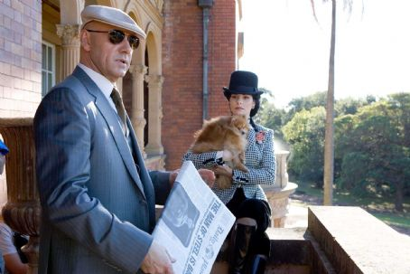 Lex Luthor Kevin Spacey as  and Parker Posey as Kitty Kowalski in Warner Bros. Pictures, Superman - 2006.