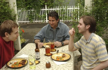 Aaron Stanford From left to right, Mark Webber, Anthony LaPaglia, and  in Paramount Classics' drama WINTER SOLSTICE.