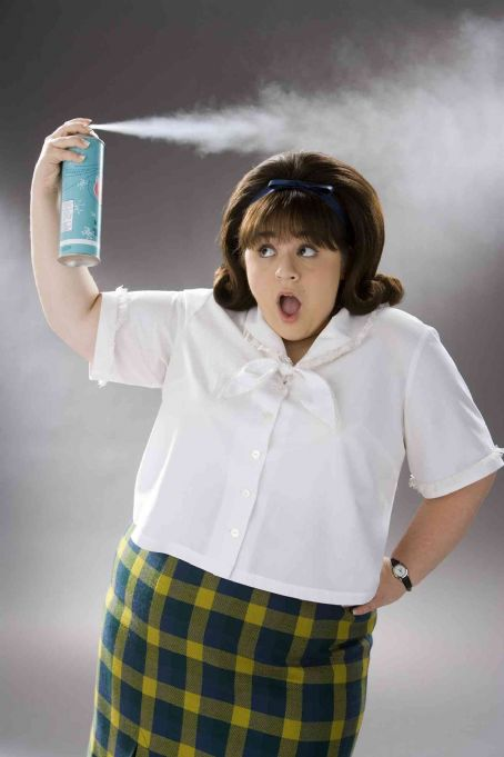 "Nikki Blonsky  stars as ""Tracy Turnblad"" in New Line Cinema's upcoming release of Adam Shankman's HAIRSPRAY. Photo Credit: ©2007 David James/New Line Cinema"
