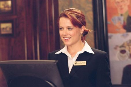 Allison Munn  as Desk Clerk Charlotte in Paramount Pictures' drama Elizabethtown - 2005