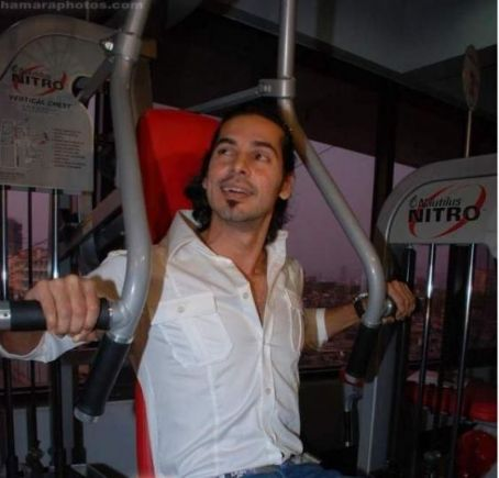 Dino Morea in Gym/Radio Station/Charity