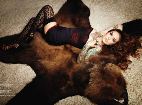 Casey Patridge  - Inked Magazine Pictorial [United States] (October 2012)