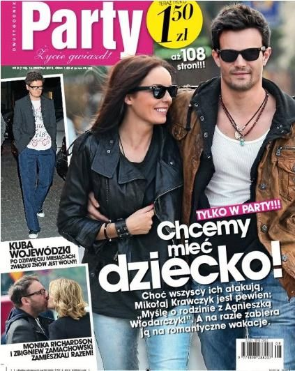 Agnieszka Wlodarczyk - Party Magazine Cover [Poland] (16 April 2012)