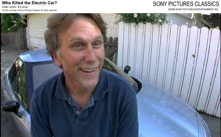 Peter Horton : EV driver. Photo courtesy of Sony Pictures Classics, all right reserved