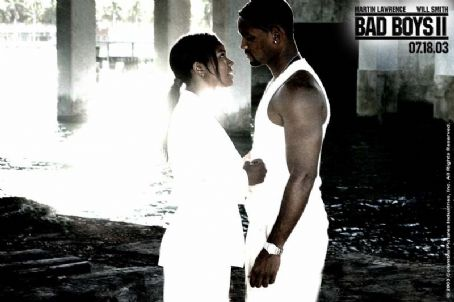 Bad Boys II Gabrielle Union and Will Smith in Columbia's  - 2003