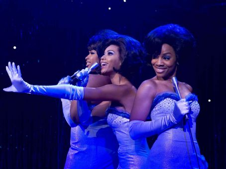 Anika Noni Rose Jennifer Hudson, Beyonce Knowles and  in DreamWorks' Dreamgirls - 2006